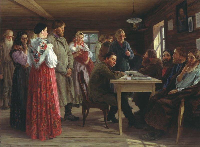 М. И. Зощенко. Волостной суд, 1888