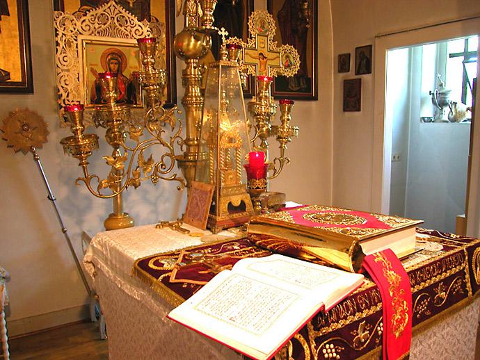 Престол православного храма