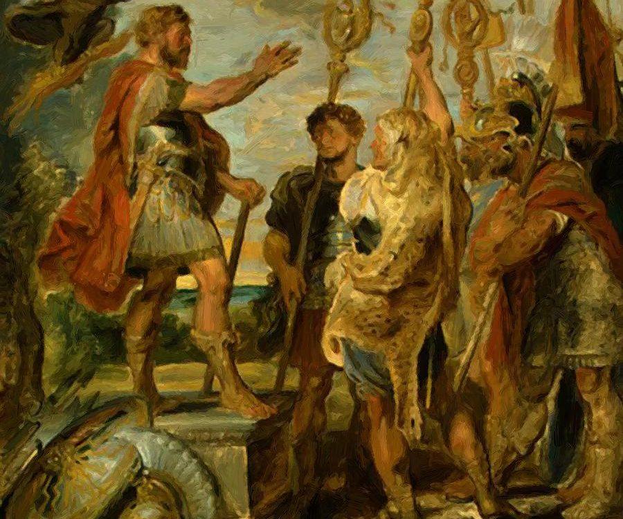 Питер Пауль Рубенс. Речь консула Деция Муса о своей мечте. 1617.