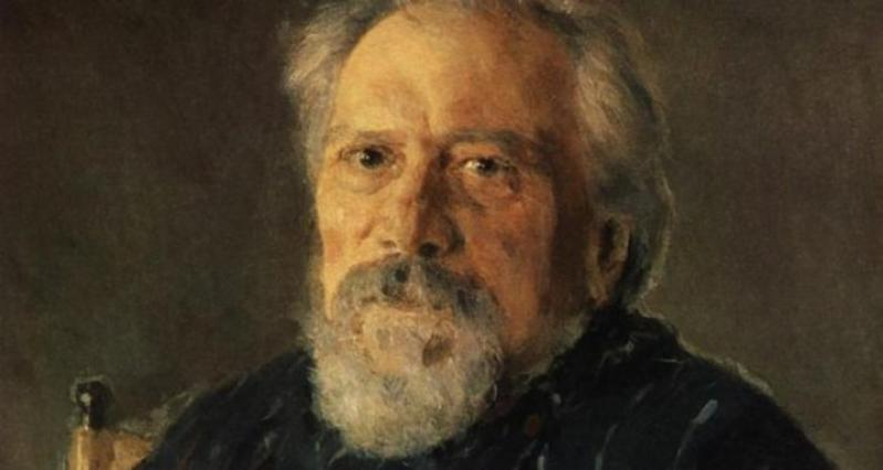 Н. С. Лесков. Портрет.