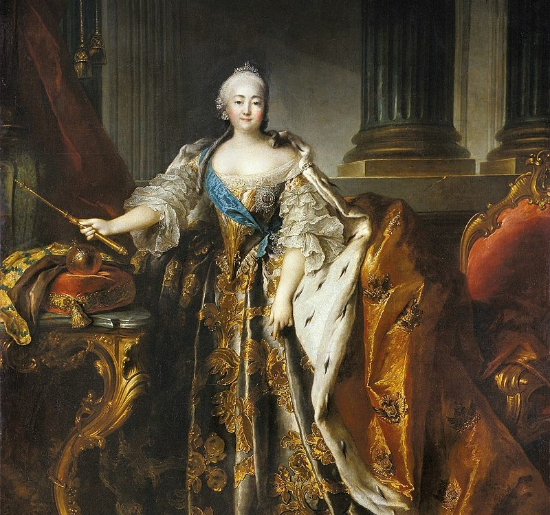 Императрица Елизавета Петровна , Луи Токке (1756, Эрмитаж)
