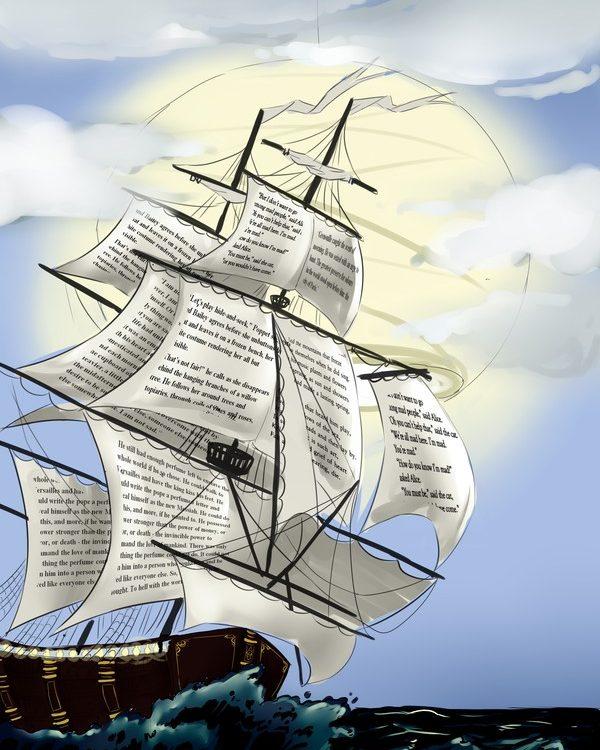 Книга — корабль знаний