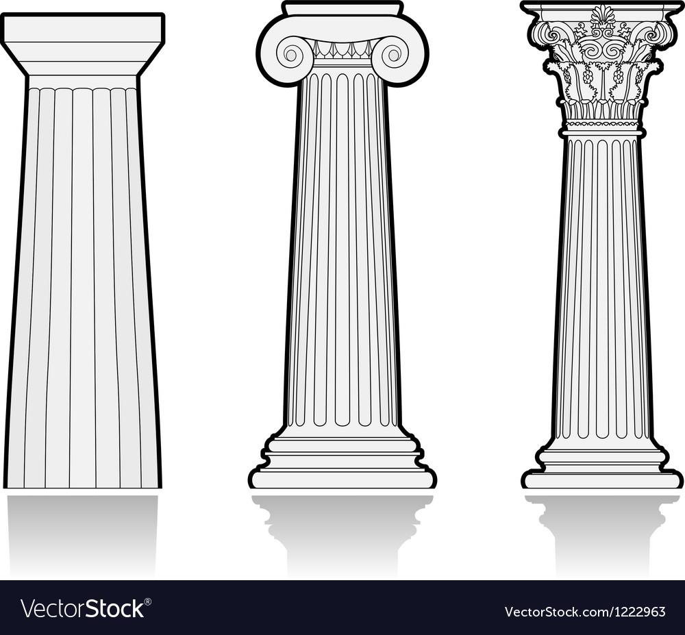 Классические ордера колонн
