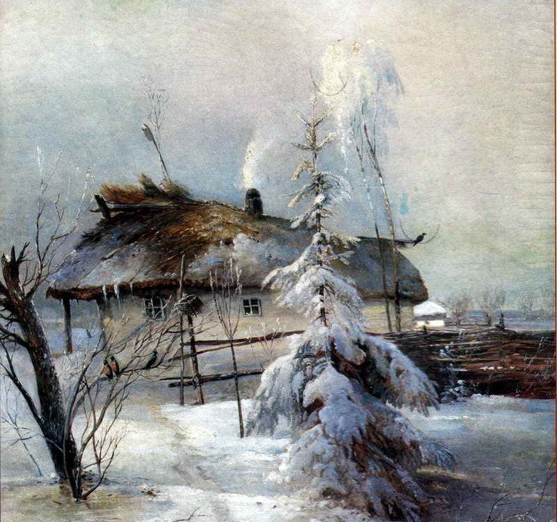 А. К. Саврасов. Зима.