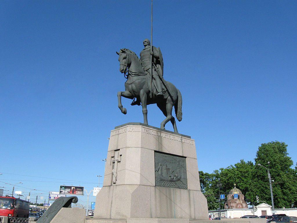 Памятник Александру Невсокму