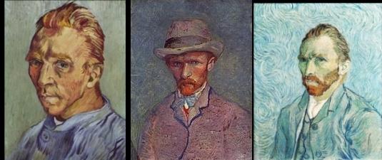 Автопортреты Ван Гога