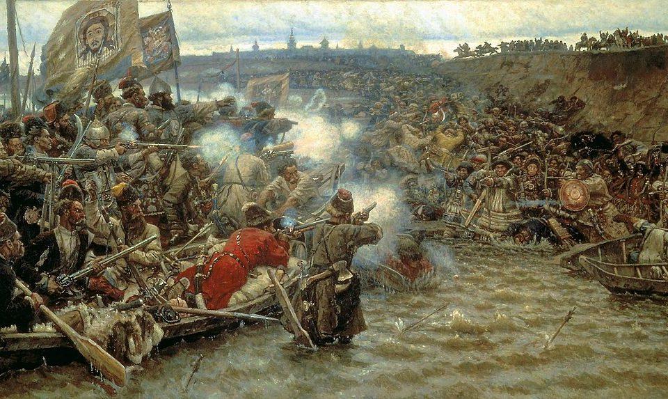 «Покорение Сибири Ермаком Тимофеевичем» (1895) — картина Василия Сурикова.