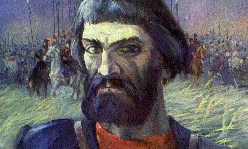 Емельяна Пугачёв. Неизв. художник.