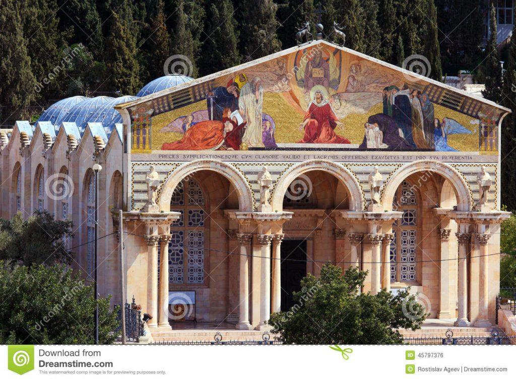 4. Церковь всех наций на Mount Of Olives